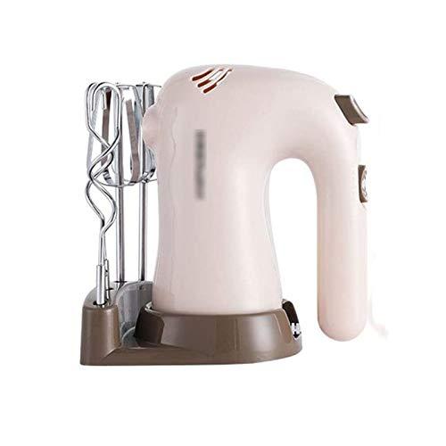 YFGQBCP Mezclador de Manos de 5 velocidades eléctricas, mezcladoras de Cocina de Cocina de Acero Inoxidable batidor de Huevo para una Crema fácil de azotes, Pasteles