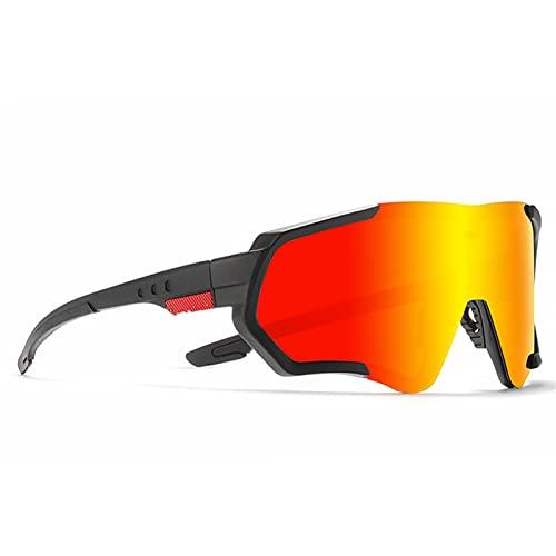 JTXQSI Gafas de Ciclismo al Aire Libre Correr Naturaleza Caminata Gafas de Sol para Hombre Gafas de Bicicletas polarizadas Luz de Bicicletas Mujeres Gafas (Color : C2)