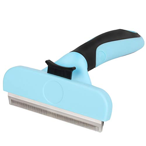 Samply Dog Shedding Brush Large- Pets Deshedding Tools for Long& Short Haired Dogs and Cats
