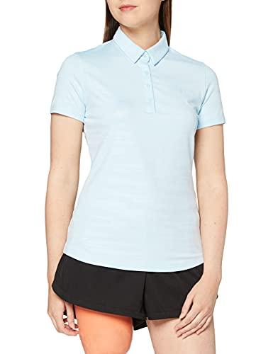 Under Armour Zinger Short Sleeve Novelty Polo Chemise Femme, Bleu, S