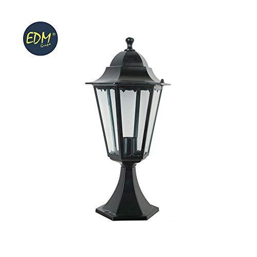 Edm Modèle : Marseille Lanterne en aluminium décor noir 49,5 x 23 cm