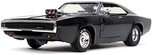 JADA TOYS 1/24 ワイルド・スピード/ジェットブレイク 1970 ダッジ チャージャー ブラック ドミニク・トレット JADA31942 完成品ダイキャストミニカー