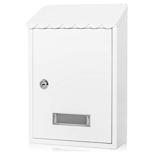 Locking Mailbox Wall Mounted Vertical, Parrency Mail Boxes...