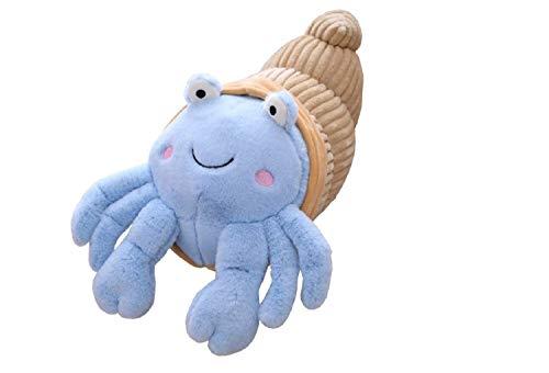 WEIDO Cartoon Hermit Crab Plush Toy, Creativity Stuffed Soft Hermit Crab Dolls Funny Plush Toy Children Birthday Gifts(35cm)