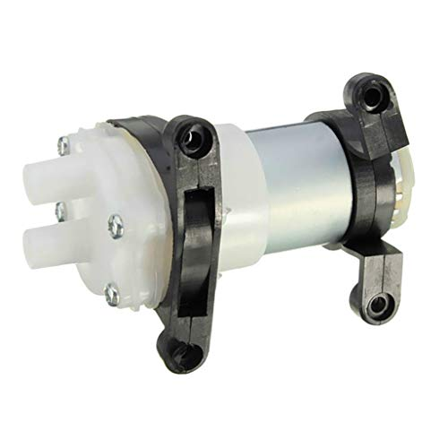 Almencla 6-12V R385 Mini Acuario Tanque Micro Diafragma Dispositivo de Bomba de