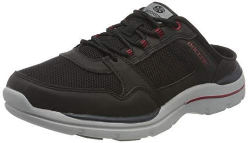 Dockers by Gerli Damen 46BN002-607100 Sneaker, schwarz, 45 EU