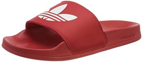 adidas Originals Herren Adilette Lite Slide Sandal, Scarlet/Cloud White/Scarlet, 40.5 EU