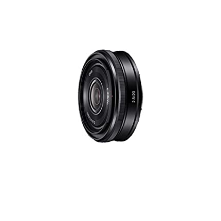 Sony SEL20F28 - Objetivo para Sony (Distancia Focal Fija 30mm, Apertura f/2.8-22) Negro