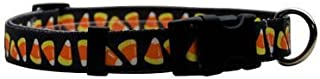 Candy Corn Dog Collar - Long - Made in The USA