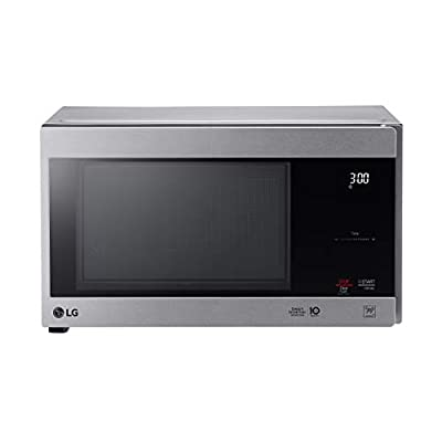 LG LMC0975ASZ 0.9 CF Countertop Microwave, Smart Inverter, Easy-Clean Interior with hexagonal ring, Stainless Steel