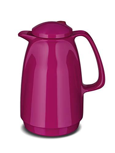 ROTPUNKT Isolierkanne 220 1 Liter (Raspberry) | Doppelwandige Vakuumisolierung | Zweifunktions-Drehverschluss | BPA Frei- gesundes Trinken |...
