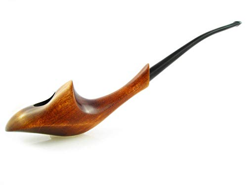 "Pear Churchwarden Handcrafted Pipe Tobacco Long Lady ""ORCHID"""