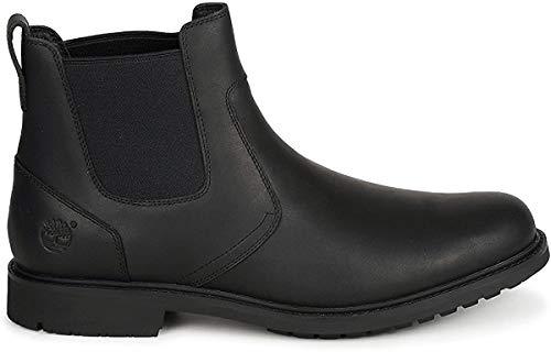 Timberland Timberland Herren Stormbucks Chelsea Pull-on Chukka Boots, Schwarz (BLACK), 43 EU