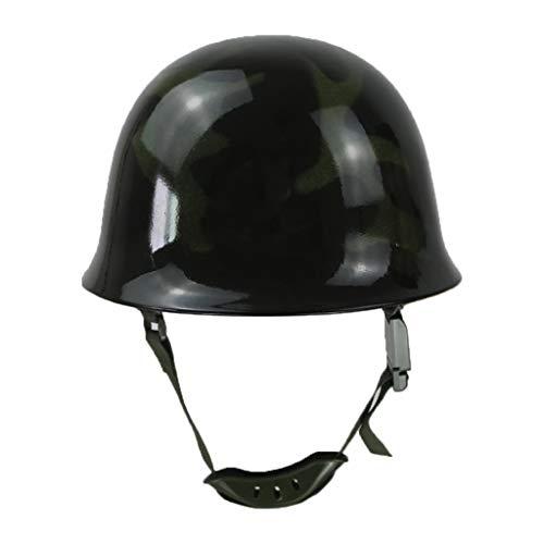 liumiKK Fire Fighting Helmet Fire Hat Safety Protection Cap Steel Helm