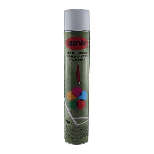 SparVar 6031354 Kreidespray mit Überkopfdüse, 750 ml, weiß