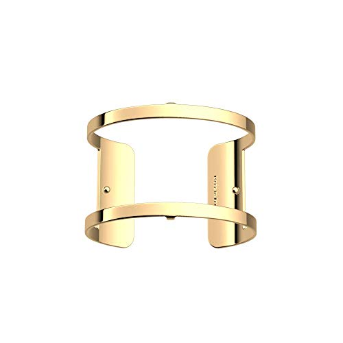 Les Georgettes Damen Armreif - Les Essentielles Pure - Medium, Farbe:Gold, Armreif-Breite:40mm