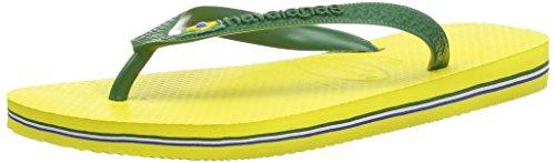 Havaianas Unisex-Erwachsene Brasil Zehentrenner, Gelb (Citrus Yellow), 39/40 EU