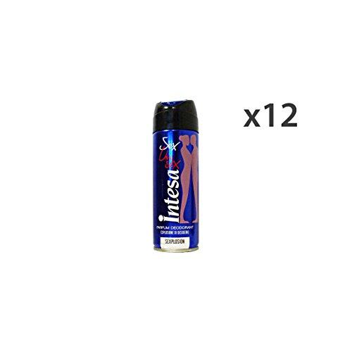 Vereinbarung Set 12Deodorant Spray Unisex Sexplosion 125ml. Körperpflege
