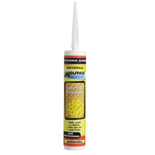 WOLFPACK LINEA PROFESIONAL 14040016 Silicona Acida Roble 280 cm³