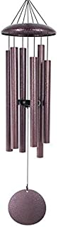 """ASTARIN Large Wind Chimes Outdoor,36"""" Memorial Wind Chimes Amazing Grace Bronze with 6 Metal Tubes Tuned Deep Tone for Gar..."""