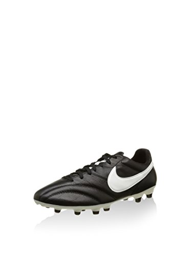 Nike The Premier, Botas de fútbol Hombre, Negro (Black/Summit White/Orange Blaze), 42