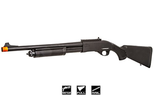 Jag Arms Scattergun HD Gas Airsoft Shotgun (Black)