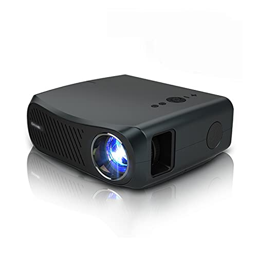 KFJZGZZ Proyector Full HD 60-200 Pulgadas Pantalla 1920x1080P proyector de Video 3D de Cine en casa para Bluetooth 4K