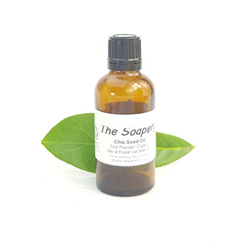 Aceite de semilla de chía orgánico prensado en frío 50ml - 100% puro