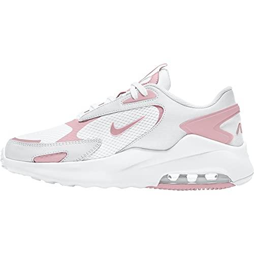 Nike Air Max Bolt, Scarpe da Corsa Donna, White/Pink Glaze-White, 38 EU