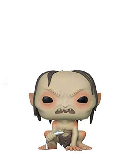 Funko [Pop! Movies - Lord of The Rings - Gollum Whit Fish Chase #532 Limited Edition Vinyl Figure 10cm