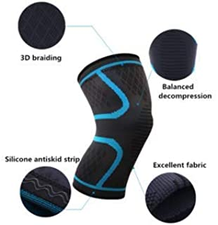 Knee Braces Compression sleves Pain Relief Maximum Support for Your Knees,Professional Design,Suitable for All Sports Activities,Prevents Injuries and relieves Pain and The Swelling