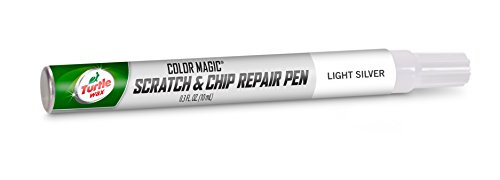 Turtle Wax 50760 Color Magic Scratch and Chip Repair Pen, Universal Light Silver