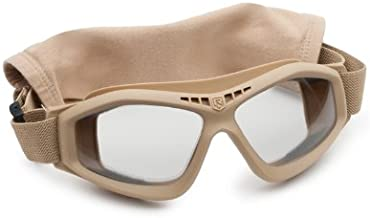 Revision Military Bullet Ant Tactical Goggle Basic Clear 4-0045-0116 Bullet Ant Tactical Goggle Basic Clear Tan, Clear