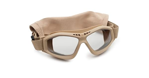 Revision Military Bullet Ant Tactical Goggle Basic Clear 4-0045-0116 Bullet Ant Tactical Goggle Basic Clear Tan Clear Pro-Motion Distributing Direct