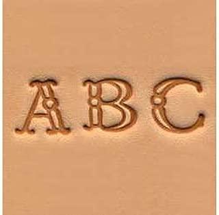Tandy Leather Alphabet Stamp Set 3/8