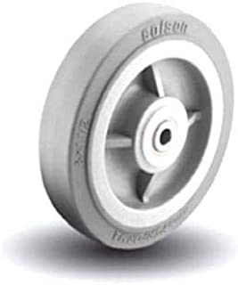 Colson V-Groove Wheel 8 x 3 Cast Iron with 1 ID Needle Bearing