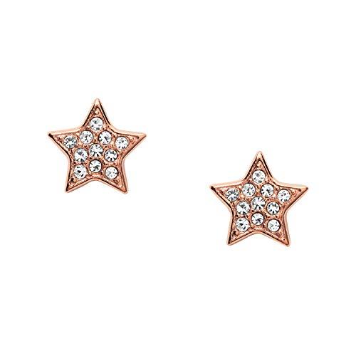 Fossil Pendientes de botón Mujer acero inoxidable - JOF00293791