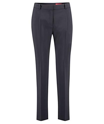 HUGO Damen Hose The Slim Trousers Blau 36