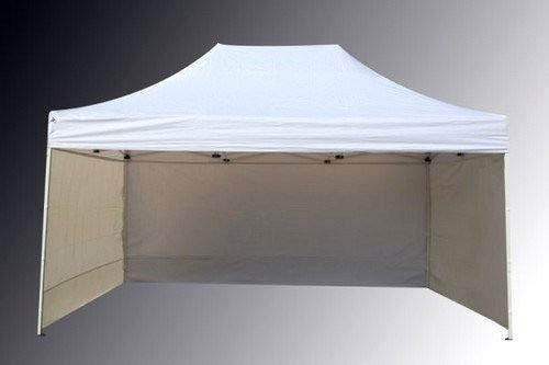 Bastionshop GAZEBO 2m x 3m waterproof GAZEBO MARKET STALL POP UP TENT Blue Green Beige Red Yellow (Beige)