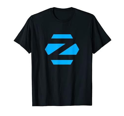 Linux Zorin OS tee con Blue Logo Open Source Os Camiseta