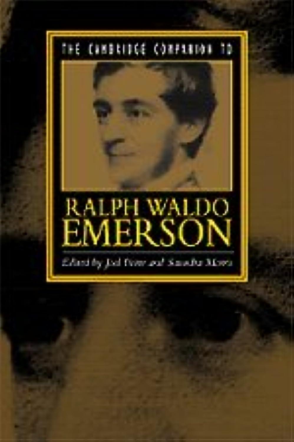 ファックスかろうじて悲惨なThe Cambridge Companion to Emerson (Cambridge Companions to Literature)