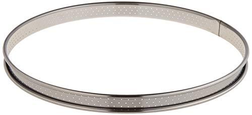 DE BUYER -3093.26 -cercle a tarte inox perfore ht2 ø26 cm