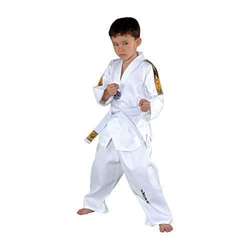 Kwon Taekwondoanzug Tiger, weiß, 551005, Gr.120