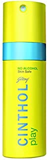 Cinthol Play Deodorant Spray for Men, 150 ml (No Alcohol)
