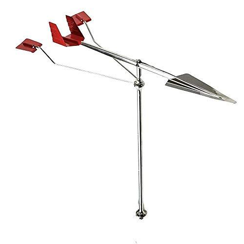 NERR YULUBAIHUO 1 Pcs Stainless Steel 304 Wind Direction Indicator For BoatSailingMarine Masts