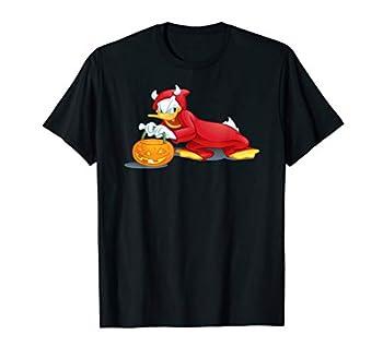 Disney Halloween Donald Duck Devil T-Shirt