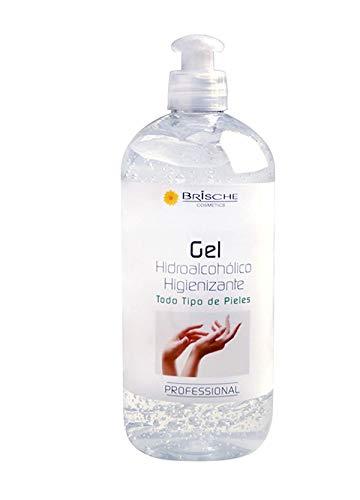 Gel Hidroalcohólico Higienizante manos 500ml Brische