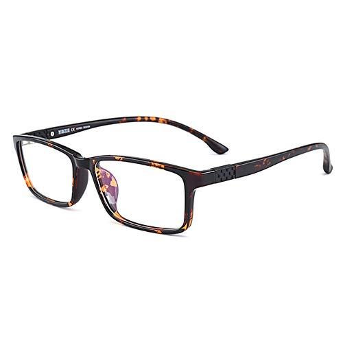 Ouderen Verziendheid Lezing Glazen Mannelijke Anti Blauw Licht High Definition Harslenzen Presbyopie Brillen Met Graden 1,00-3,00,Amber,+ 3.00