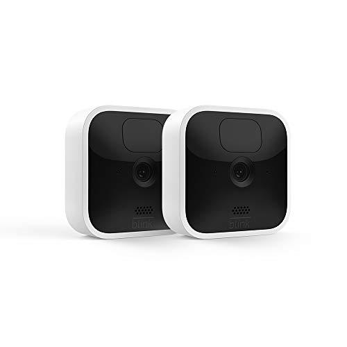 Nouvelle Blink Indoor, Caméra de surveillance HD sans fil avec deux ans...