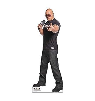 Cardboard People The Rock Life Size Cardboard Cutout Standup - WWE